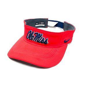 Nike Ole Miss Rebels NCAA Strapback Visor Hat